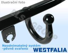 Ťažné zariadenie BMW 5-serie kombi 1997-2004 (E39), pevný čep svařený, Westfalia