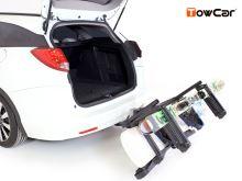 Nosič lyží TowCar Aneto - 4 páry lyží, na ťažné zariadenie