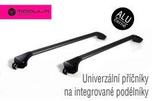 Strešný nosič na integrované pozdĺžniky - ALU čierny