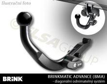 Ťažné zariadenie Fiat 500L 5dv. 2012-, odnímatelný BMA, BRINK