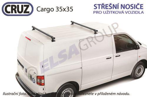 Strešný nosič Mercedes Vito / V 35x35