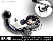 Zariadenie pre nosiče bicyklov Citroen C1 / Peugeot 107 / Toyota Aygo + 7pin EP KIT