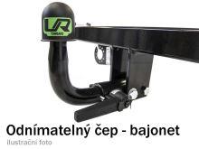 Ťažné zariadenie Citroen C8 2002-2011 , bajonet, Umbra