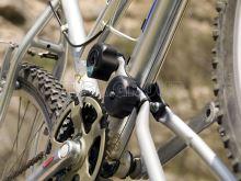 Držiak bicyklov CRUZ Alu-Bike, Double Knob System, uzamykateľný