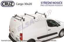 Strešný nosič Citroen Berlingo II / Peugeot Partne sada 3 priečnikov