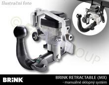 Ťažné zariadenie BMW 3-serie Touring (kombi) 2014/03- (F31), automat sklopný, BRINK