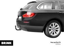 Ťažné zariadenie BMW 5-serie Touring (kombi) 2014/03- (F11), odnímatelný vertikal, BRINK