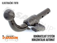Ťažné zariadenie BMW 1-serie HB 2014/03- (F21/F20), odnímatelný bajonet, Aragon
