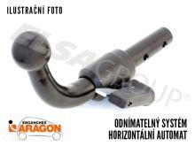 Ťažné zariadenie Fiat Panda 2011- , odnímatelný bajonet, Aragon