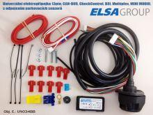 Elektroinštalácia 13pin uni. CC/CAN-BUS, +PDC, MINI